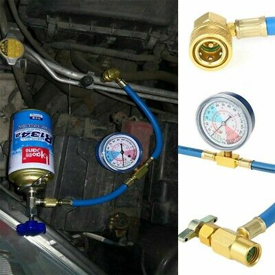 £12.59 • Buy Car Vehicle Air Conditioning Refrigerant Recharge A/C R134a Hose Gas Gauge Kit