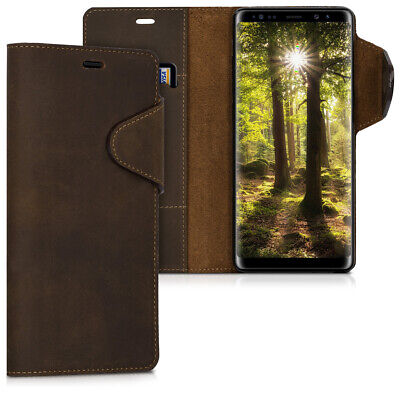 $ CDN31.99 • Buy Genuine Leather Wallet Case For Samsung Galaxy Note 8 DUOS With Stand Kalibri