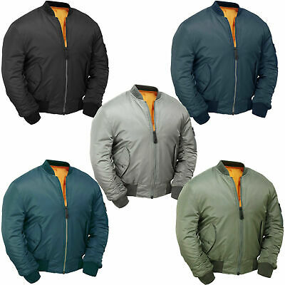 £27.99 • Buy MA1 Flight Military Bomber Jacket Combat Army Air Force US Pilot Padded Cobles