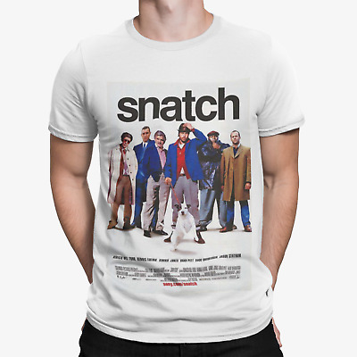 £5.99 • Buy Snatch T-Shirt - Comedy Retro Cool 80s 90s Movie Film Funny Poster UK Gang