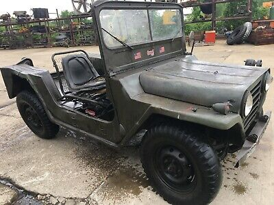 $5000 • Buy M151 A1 Jeep Mutt Ford 1967 Cut Used- No Title - Sold As A Parts Parts Vehicle