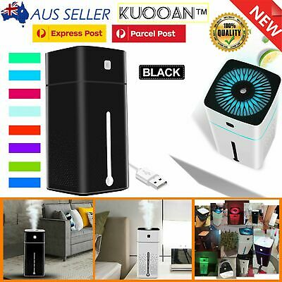 AU15.99 • Buy Essential LED Oil Ultrasonic Aroma Aromatherapy Diffuser Air Humidifier Purifier