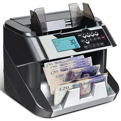 £129.49 • Buy Note Counter Machine Money Currency Banknote Counting Detector Cash 200 Bills