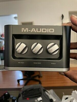 $35 • Buy M Audio Interface Fast Track