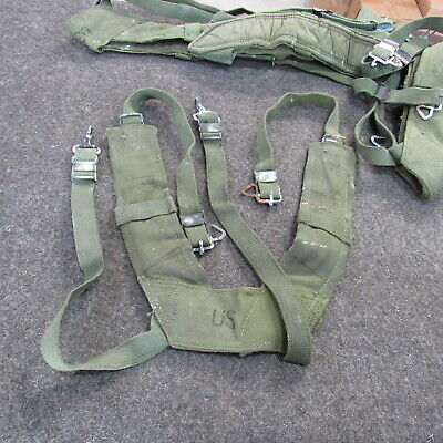 $15 • Buy M-1956 Combat Suspenders Vietnam SPECIAL Size LONG With HW Corrosion (LC)