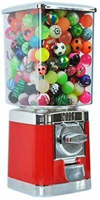 £49.99 • Buy Red Retro 20p Coin Operated Gumball / Bouncy Balls / Gobstopper Vending Machine
