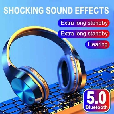 $ CDN20.23 • Buy Wireless Headphones Hifi Stereo For TV Watching With Bluetooth Transmitter
