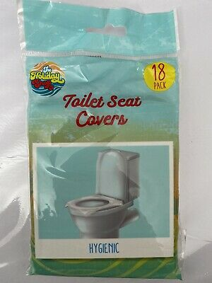 £3.50 • Buy Toilet Seat Covers Travel Flushable Disposable Hygienic Camping Festival 18 Pack