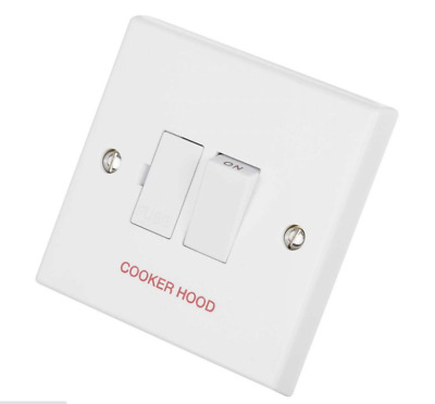 £6.05 • Buy Volex  Vx1080ch Cooker Hood Switched Connection Unit  13a 250v