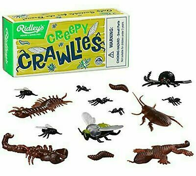 £4.29 • Buy RIDLEYS Creepy Crawlies Kids Toy Bugs Gift Novelty Plastic Insects Retro Boxed