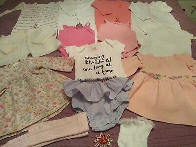 £12.99 • Buy Baby Girls Clothes Bundle 3-6 Months