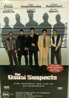 AU9 • Buy The Usual Suspects Dvd Kevin Spacey Region 4 New And Sealed
