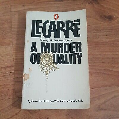 £6.50 • Buy A Murder Of Quality By John Le Carre