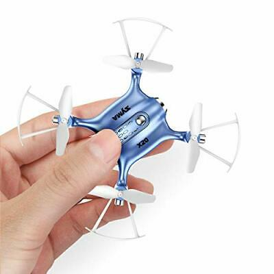AU65.12 • Buy Mini Drones For Kids Or Adults, RC Drone Helicopter Toy, Easy Indoor Small Blue