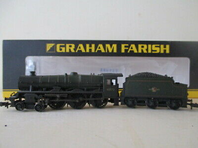 £110 • Buy BACHMANN N  JUBILEE CLASS BR GREEN L/CREST 45572 EIRE WEATHERED CAT No 372-481
