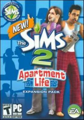 £15.31 • Buy The Sims 2 Apartment Life W/ Manual PC DVD City Living Penthouses Game Add-on!