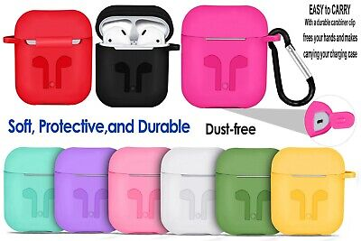 $ CDN3.44 • Buy Apple Airpods 1/ 2 / Case With Strap Shockproof Protective Earphones Cover