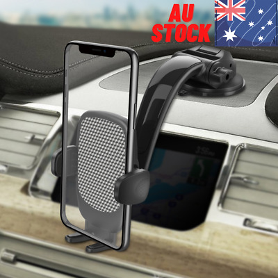 AU12.48 • Buy NEW Universal Car Phone Holder Dashboard Suction Flexible &Adjustable Arm Stand