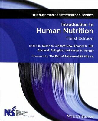 £42.52 • Buy Introduction To Human Nutrition, Paperback By Lanham-New, Susan A. (EDT); Hil...