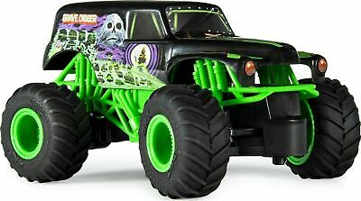£14.84 • Buy Spin Master RC Radio Remote Control Car Grave Digger Truck 1/24 - MONSTER JAM