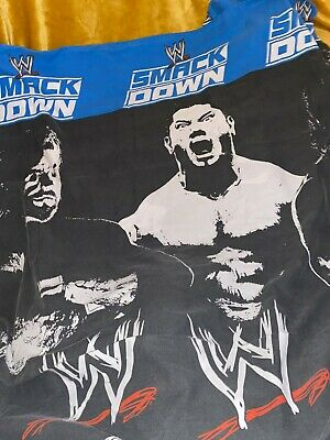 £19.99 • Buy Wwe Themed Single Bed Quilt Cover