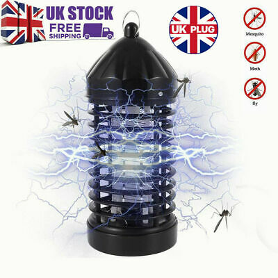 £8.55 • Buy Electric UV Insect Killer Mosquito Fly Pest Bug Zapper Catcher Trap LED Lamp New