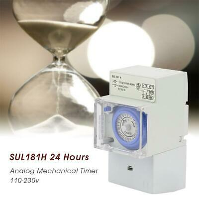 £23.38 • Buy 24 Hour Mechanical Timer Timer Switch Time Clock Relay Electrical Programmable