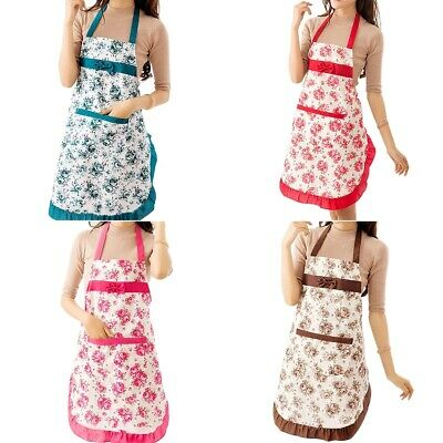 £3.59 • Buy Chefs Apron Kitchen BBQ Baking & Catering Apron For Men Women Ladies With Pocket