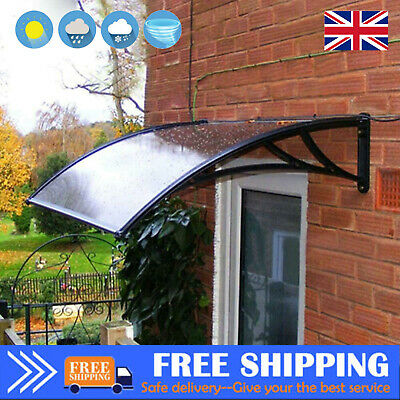 £55.99 • Buy Window Roof Rain Cover Door Canopy Awning Shelter Outdoor Front Back Porch Patio
