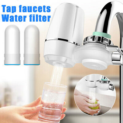 £13.69 • Buy Tap Water Purifier Faucet Ceramic Filtration Cleaner Water Filter Home Kitchen