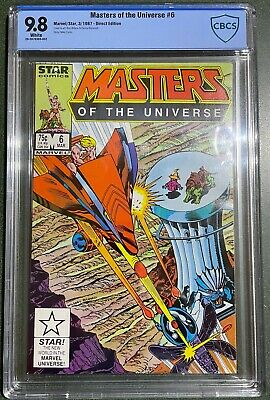 $530 • Buy 1987 Masters Of The Universe #6 CBCS 9/8. Pop 3