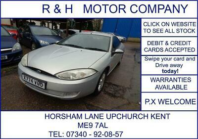 £1995 • Buy 2000 Ford Cougar 2.5 24v 3dr Coupe Petrol Automatic