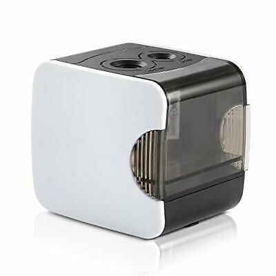 £17.39 • Buy Electric Automatic Pencil Sharpener Double Hole Rechargeable USB Powered White