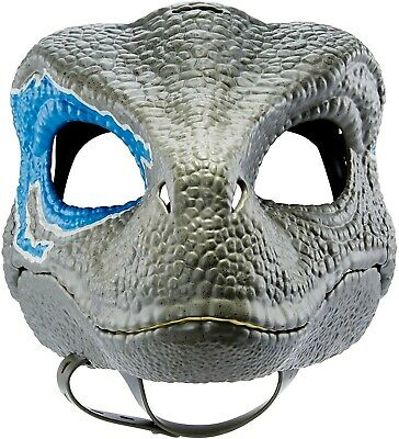 $42.94 • Buy Jurassic World Velociraptor BLUE Dinosaur Dino Mask Camp Cretaceous NEW With Tag