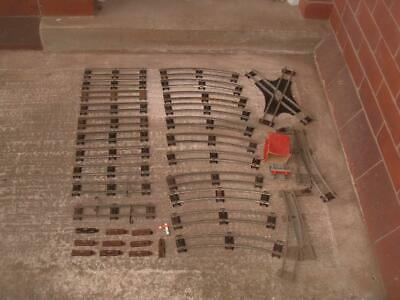 £35 • Buy Vintage Hornby O Gauge Track Straight Rails & Curves + Clips Etc In Used
