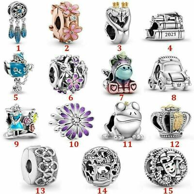 AU18.99 • Buy 2021 New Genuine Pandora Dangle Charm S925 ALE Sterling Silver With Gift Pouch