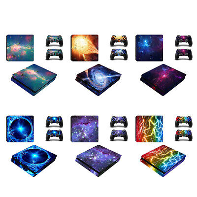 AU10.92 • Buy Skin Stickers For PS4 Sony Playstation 4 Slim Console 2 Controller Decal