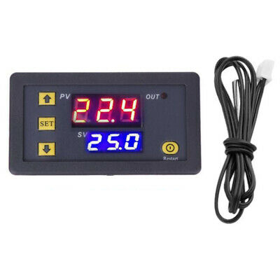 £7.89 • Buy Digital LED Microcomputer Thermostat Controller Switch Temperature Sensor 20A