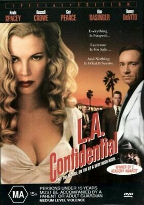 AU14.50 • Buy La Confidential Dvd Kevin Spacey Russell Crowe Region 4 New And Sealed