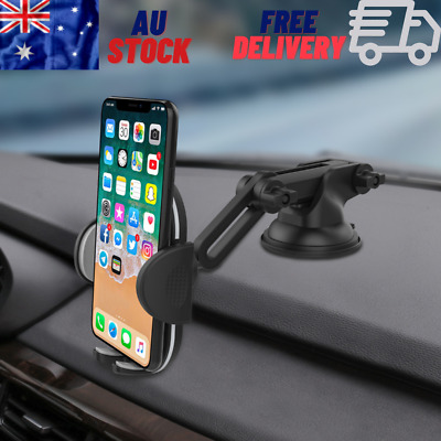 AU13.48 • Buy Fashion Car Mobile Phone Holder Universal Dashboard Windshield Suction Cup Mount