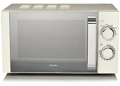 £70 • Buy (BRAND NEW, TOP QUALITY) 800W Breville Manual Microwave - Cream
