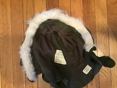 $50 • Buy Extreme Cold Weather Parka Hood OG-107 W/ Synthetic Fur Ruff US Army Used-M65