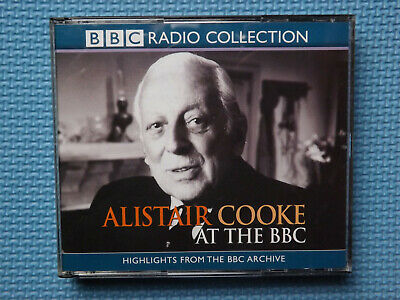£9.99 • Buy BBC Radio Collection  Alistair Cooke At The BBC  (Audio-CD, 3x CDs) - NEW
