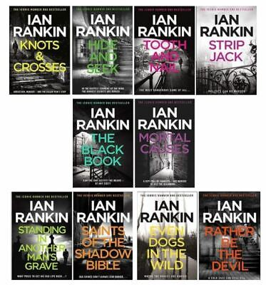 £24.94 • Buy Ian Rankin Inspector Rebus Series Collection 10 Books Set (Knots And Crosses, Hi