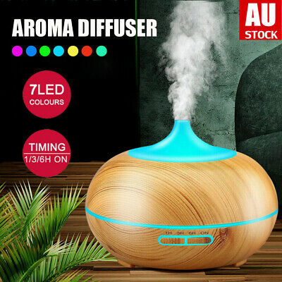 AU17.50 • Buy LED Ultrasonic Aroma Aromatherapy Diffuser Air Humidifier Purifier Essential Oil