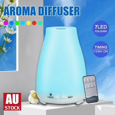 AU16.08 • Buy Essential Oil Humidifier Ultrasonic Air Diffuser Aroma Aromatherapy Air Purifier