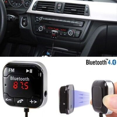 £6.99 • Buy Wireless Bluetooth Car MP3 Player FM Transmitter Radio LCD SD USB Charger Kit