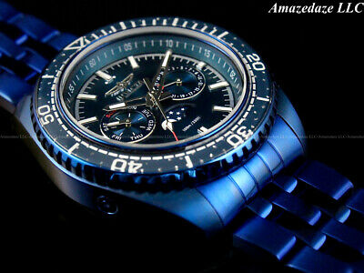$69.99 • Buy NEW Invicta Men 42mm BLUE LABEL Prodiver Swiss Ronda Day/Date Stainless St.Watch