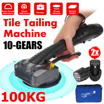 AU59.61 • Buy 1000W 12000r/min Tile Vibrator Suction Cup Floor Laying Machine Leveling Tool AU