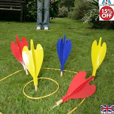 £9.50 • Buy Large Giant Garden Darts Toss Throwing Game Set Lawn Party Fun Family Outdoor UK